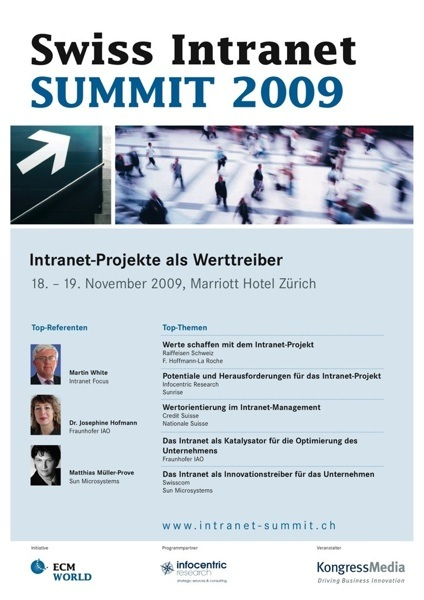 Swiss Intranet Summit - Program (pdf)